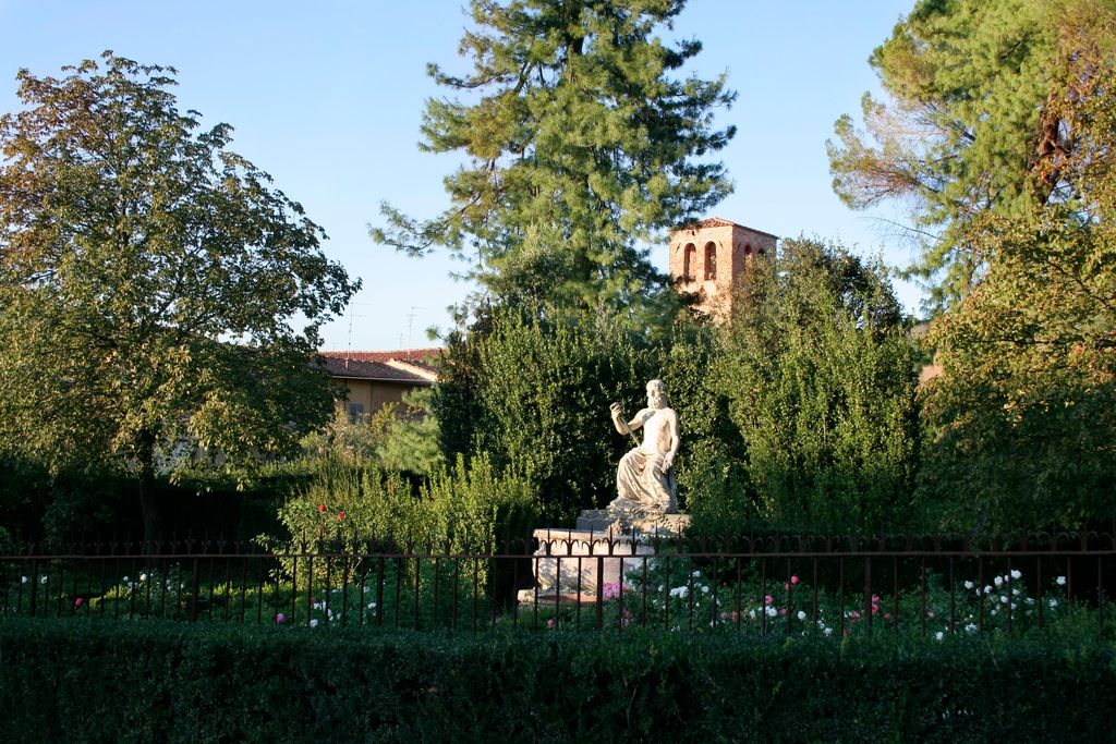 Boboli Gardens by the Pizzi Palace, Florence, Italy — Ivan Herman